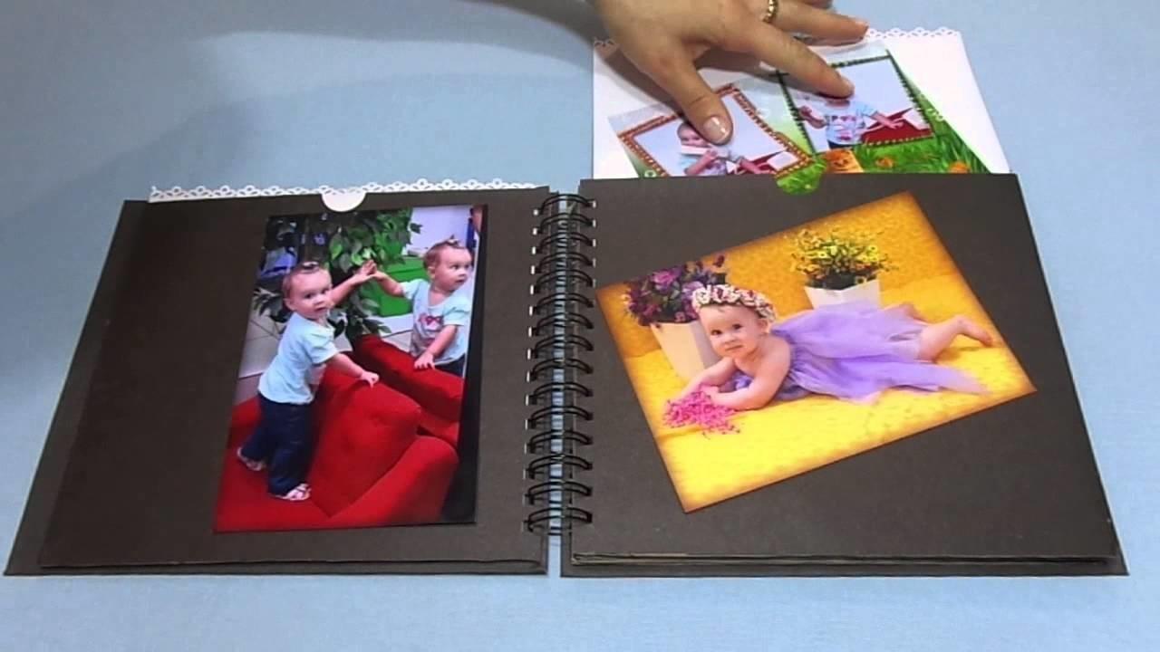 Álbum Scrapbook Grande 60 páginas