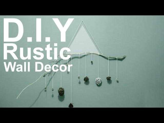 D.I.Y Rustic Wall Decor