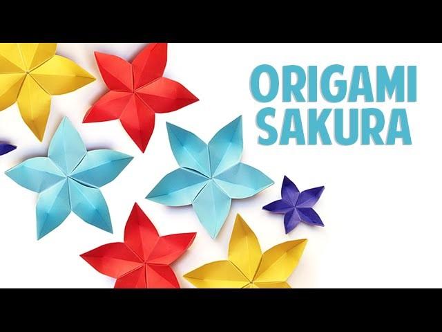 Origami Flor de Cerejeira - Sakura