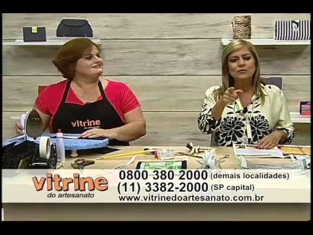 Bolsa Trançada com Andréia Campanilli - Vitrine do Artesanato na TV