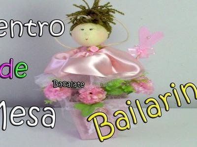 Como fazer BAILARINA Centro de Mesa p. Festa - Artesanato, DIY, Handmade