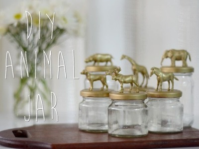 DIY: Animal Jar