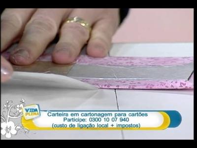 Artesanato - Carteira para cartões
