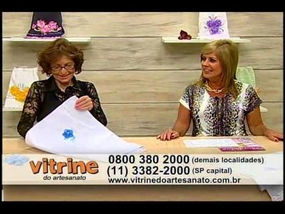 Cravo em Guipir com Zilda Mateus - Vitrine do Artesanato na TV