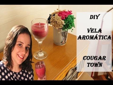 DIY Cougar Town: Como fazer vela aromática