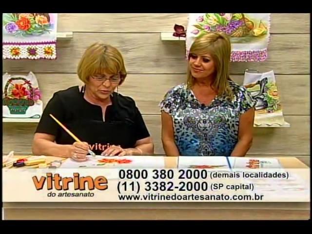 Flor de natal com Beth Matteelli - Vitrine do Artesanato na TV