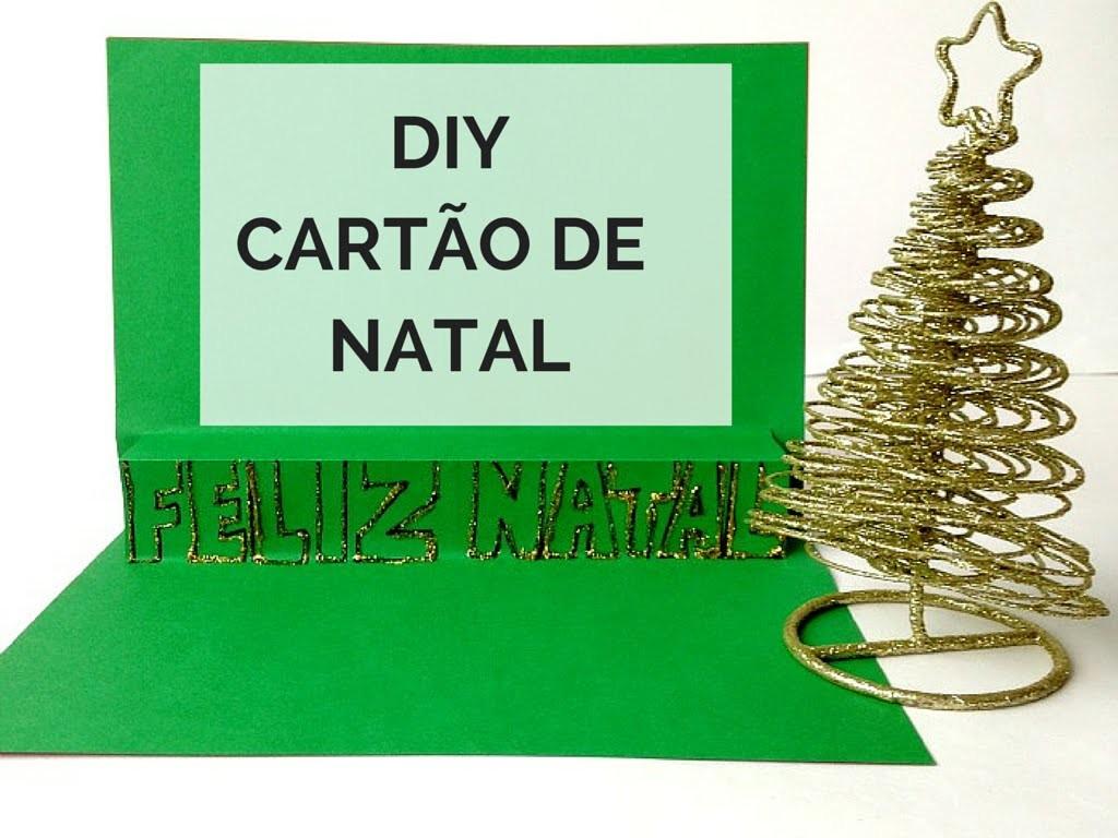 DIY | CARTÃO DE NATAL