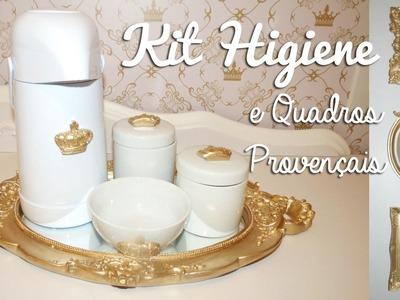 DIY | Como Fazer Kit Higiene Provençal + Quadrinhos | Faça Você Mesmo