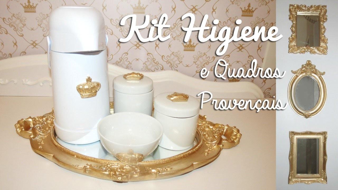 DIY   Como Fazer Kit Higiene Provençal + Quadrinhos   Faça Você Mesmo