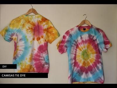DIY: Como fazer camisas Tie Dye coloridas
