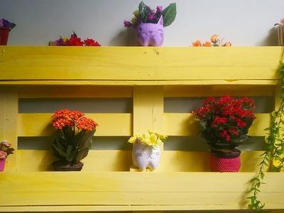 DIY: Móveis feitos com pallets #2 - Floreira