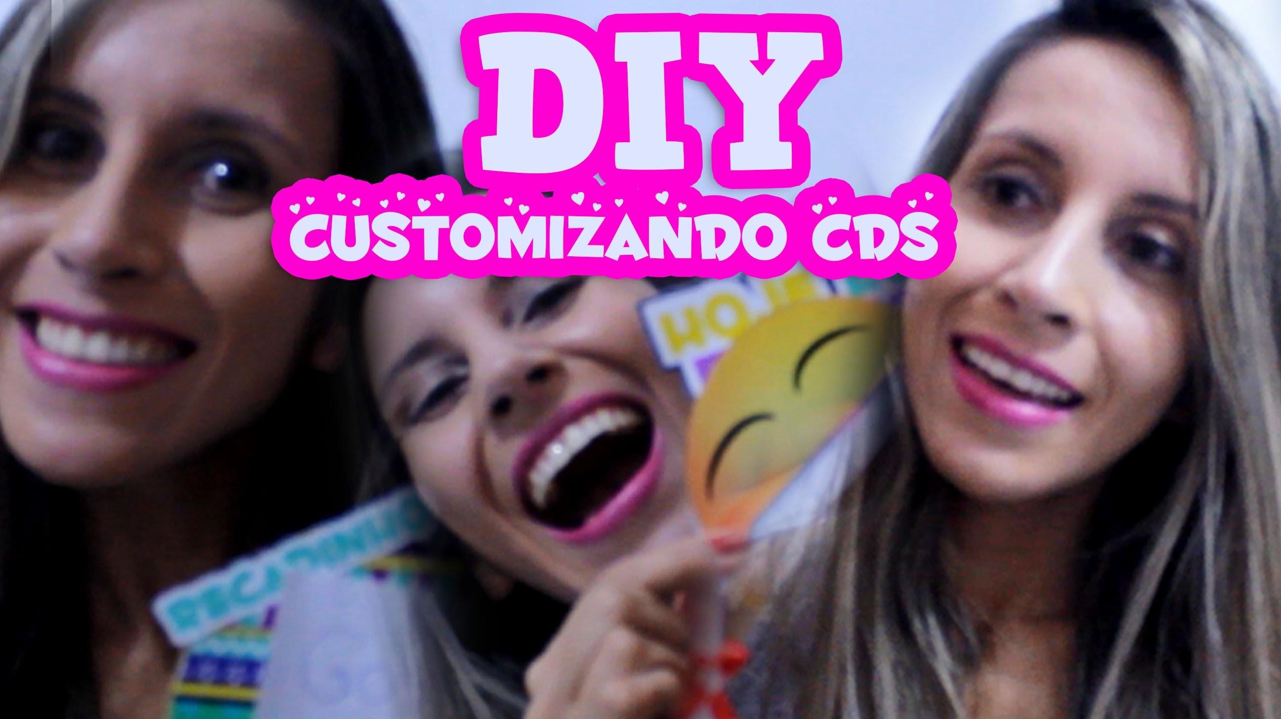 DIY | Personalizando com CDS