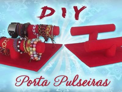 DIY Porta Pulseiras - Faça você mesmo - Reciclagem Passo a Passo