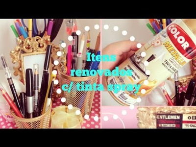 DIY: Renove objetos com tinta spray