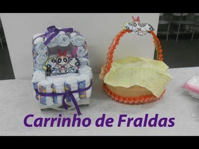 Kalinka Carvalho - Faça Você Mesmo (DIY):  Carrinho de Fraldas