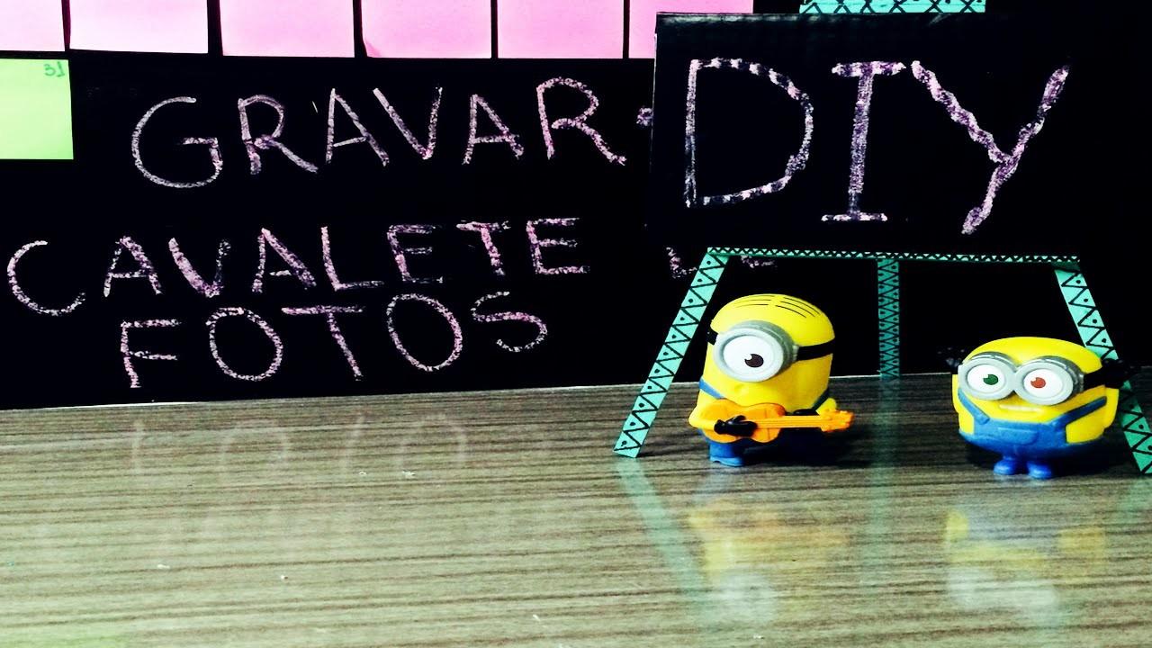 DiY Cavalete de Fotos - Faça você mesmo decoração |Tatiane Xavier
