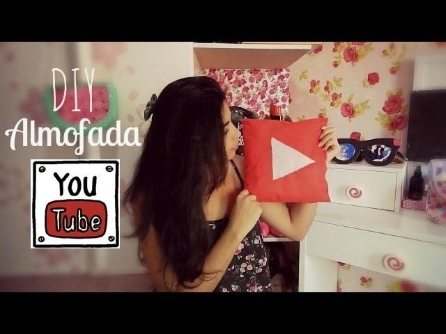DIY-Faça você mesma-Almofada youtube