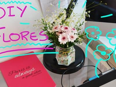 DIY - Vasos Para Flores Com Garrafas e Potes!