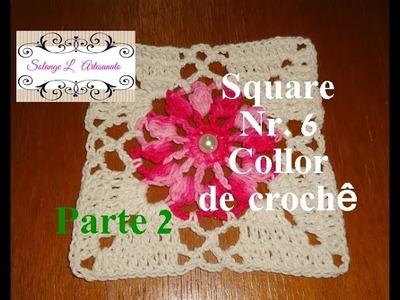Square Nr 6 collor - Parte 2 (Solange L Artesanato)