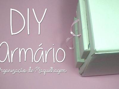DIY - Armário | Organização da Maquilhagem