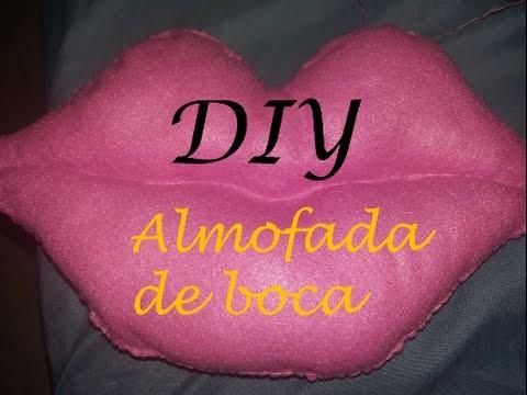 DIY Almofada de boca