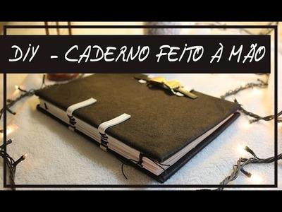 DIY - Caderno feito à mão! | Marina Araújo