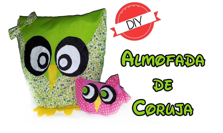 DIY | Almofada de Coruja