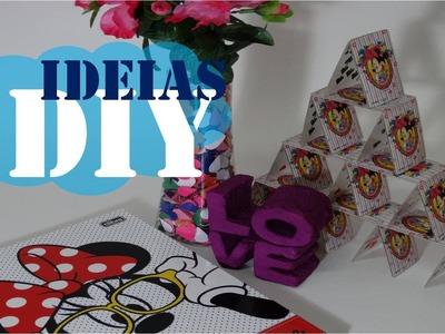 DIY DECORAÇÃO: CASTELO DE CARTAS | IDEIAS DIY!