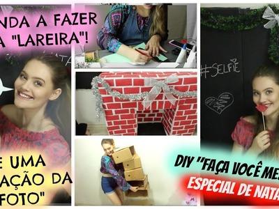 """DIY """"FAÇA VOCÊ MESMO"""" DECORAÇÃO especial de NATAL"""