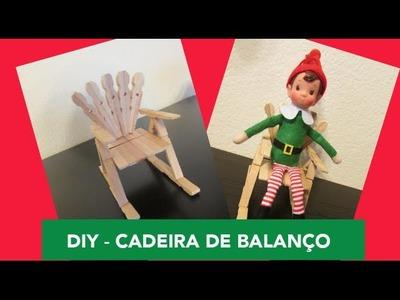 Kalinka Carvalho - Faça você mesmo (DIY): Cadeira de Balanço com pregadores de roupa HD