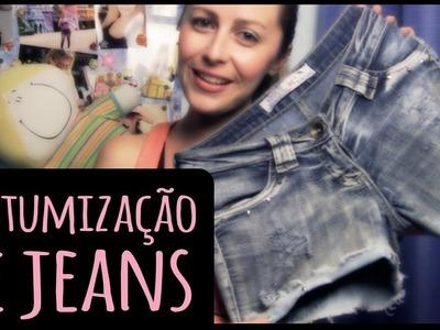 Customização de Jeans =DiY | Dany Martinês