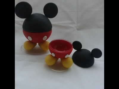DIY - Aula do Mickey- Biscuit - Raquel Fontinele