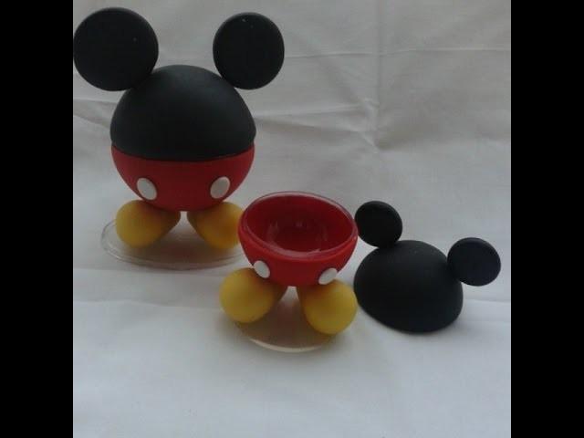 DIY - Aula do Mickey- Biscuit - Raquel Fontinele