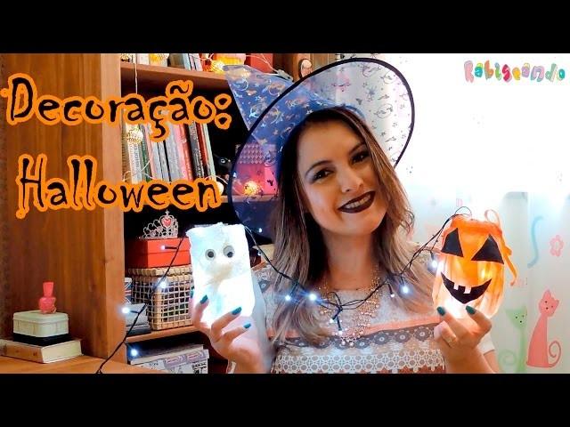 DIY: Ideias de Decoração para Festa de Dia das Bruxas - Halloween