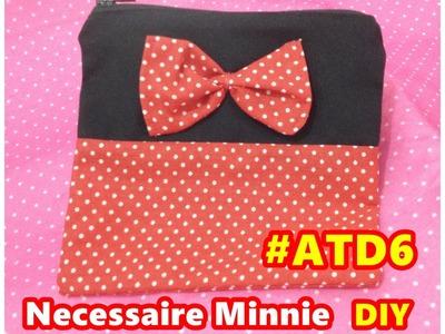 Minnie Necessaire DIY Passo a passo