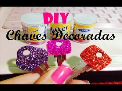 DIY: Chaves Decoradas por: Daniizinha Pink