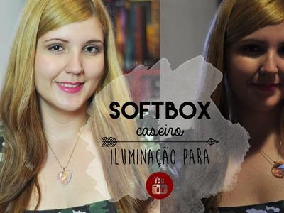 DIY :: Como fazer: Softbox Caseiro - Iluminação profissional