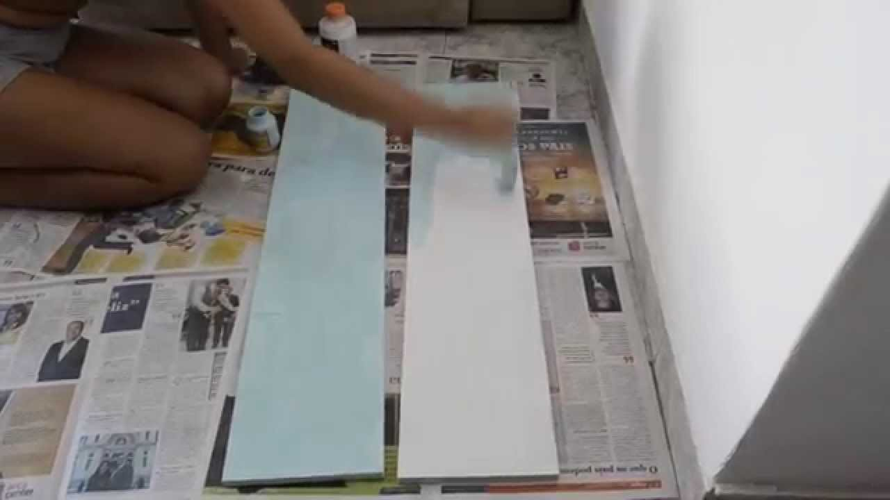 DIY - Decoração com Prateleiras
