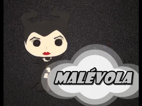 DIY.: Malévola Pop Fan - E.V.A Art