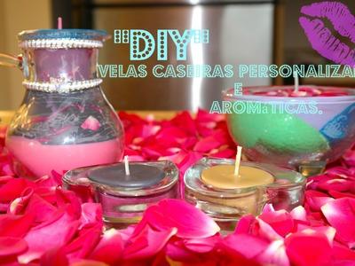 """""""DIY"""" Velas Caseiras Personalizada e aromáticas."""" -FGBMYWAY."""