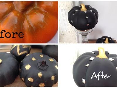 Antes e depois da abóbora-diy-decor pra Halloween