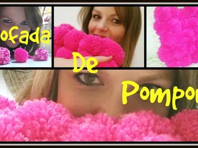 DIY - Almofada de Pompons
