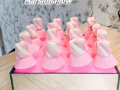 DIY: Bailarina de marshmallow