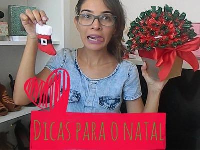 DIY : Dicas para o Natal   Faça Você Mesmo {Arvore de Bala, Porta Talher , Porta Guardanapo. }