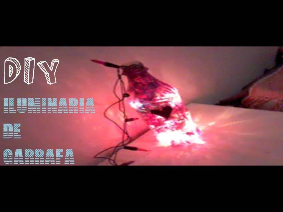 DIY: Luminária de Garrafa (faça você mesma)