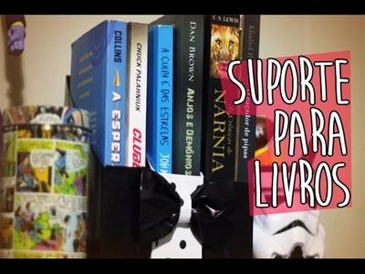 DIY- Suporte Para Livros