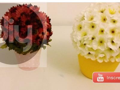 ✄ DIY | Vasinho de flores gastando menos de R$10!