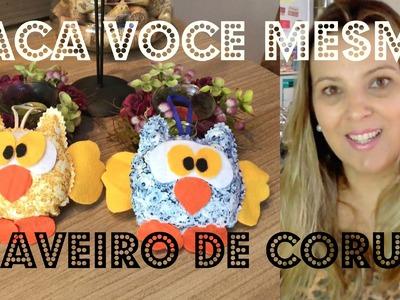 ♡♡FAÇA VOCÊ MESMA (DIY) CHAVEIRO DE CORUJA♡♡