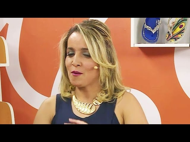 Chinelo com pérolas com Andréia Bassan | Vitrine do Artesanato na TV
