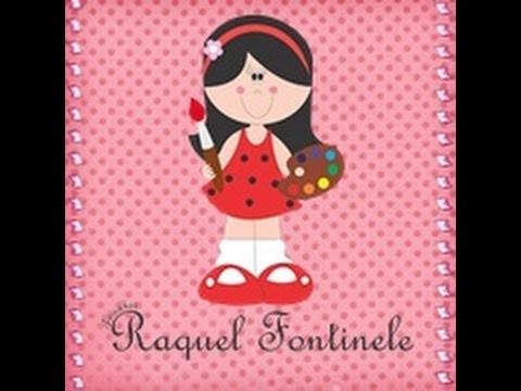 DIY - Aula de biscuit corpinho da Minie - 02 - Raquel Fontinele